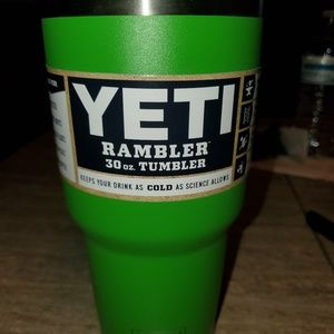 Brand new lime yeti 30 oz